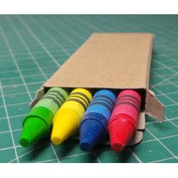 Wax pastels 9 CM