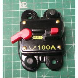 Current circuit breaker DC 12V / 100A