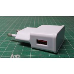 USED Phone Charger, USB, 8A