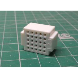 Non-soldering contact field ZY-25 25p white