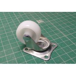 Caster, 30mm, Height 40mm