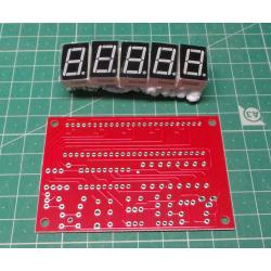 1HZ-50MHz DDS Crystal Oscillator Frequency Counter Meter Digital LED Kits