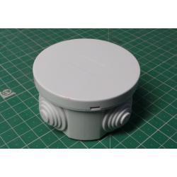 Installation box RO65, diameter 65x40mm, 4x bushing
