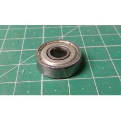 Ball bearing 626ZZ, 19x6mm for 6mm shaft