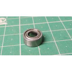 Ball bearing 623ZZ, 10x4mm for 3mm shaft