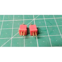 Micro-DEAN connector and socket