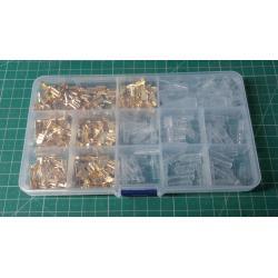 Fastons, sockets and caps 2.8-6.3 mm - set of 315 pcs
