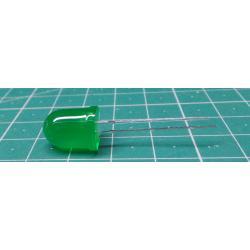 LED 10mm green diffuse