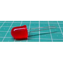 LED 10mm red diffuse