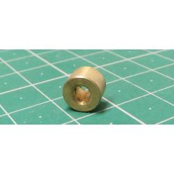 Spacer 8x5.4mm, 3.2mm brass hole