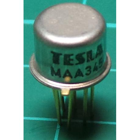 MAA345, 1 + 2 Stage direct coupled wideband amplifier