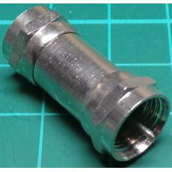 F type Plug to F Type Plug, Adaptor