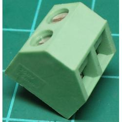 PCB Terminal Screw x2, Right Angle Exit, 11x11x12mm