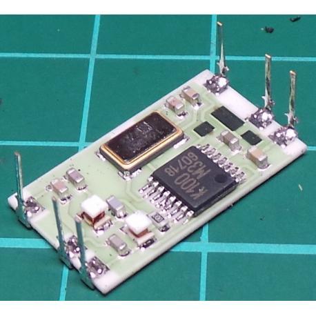 RTFQ1-433, 9.6Kb/s TX/RX Module, 433Mhz