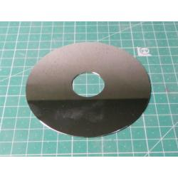 Hard Disk Platter, Aluminium, Very Shiny, Coffee Coaster, Bird Scarer, Craft Projects e.t.c., Small