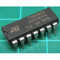 TS556CN, Dual 555 Timer, Low Power