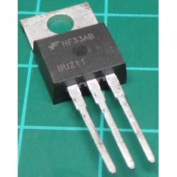 BUZ11, N Channel FET, 50V, 33A, 90W