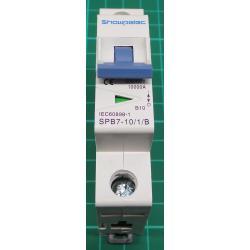 Jistič Showpelec SPB7-63 B10 230V/10A/B 1fázový na DIN lištu