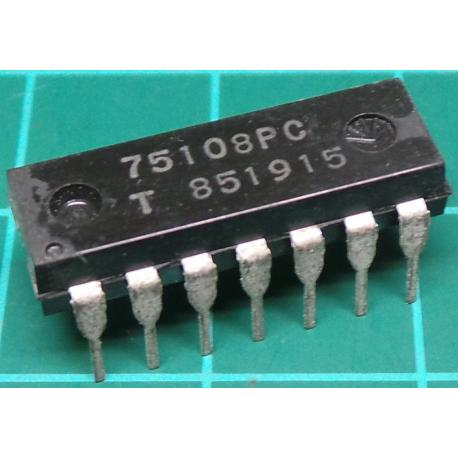 75108PC, Doubling LINE signal amplifier