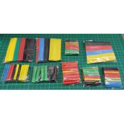 Smršťovací bužírky barevné 1-14mm, sada 328ks