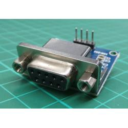 Převodník RS232 na TTL, modul s MAX3232