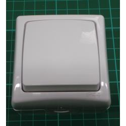 Vypínač č.1 IP44 bílý 4FN58130 nástěnný