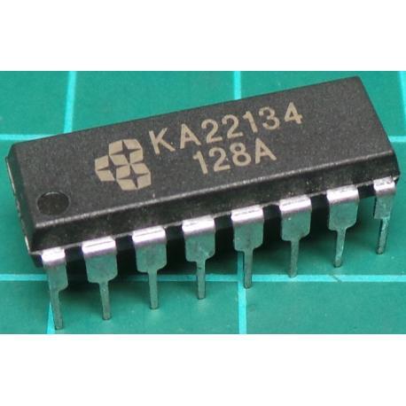 KA22134, Stereo Pre-amp + Power Amp