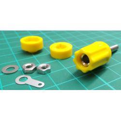Yellow banana plug