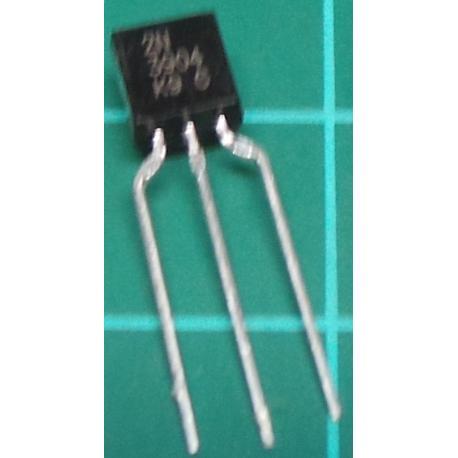 2N3904, NPN Transistor, 60V, 200mA, 360mW