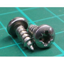 Screw, Self tapping, 9x 3.5, Stainless steel