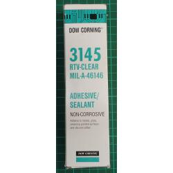 3145 RTV clear silicone, DATE 03/20
