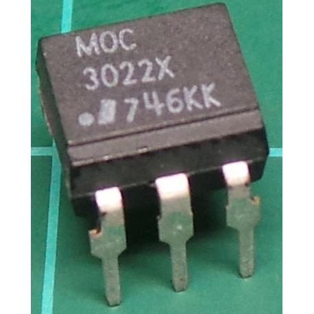 MOC3022X, Optocoupler with Phototriac Output