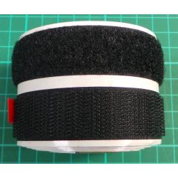 Roll of self adhesive velcro pair, 2x20mm