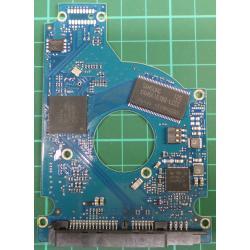 "PCB: 100536286 Rev E, Momentus 5400.6, ST9250315AS, 250GB, 2.5"", SATA"