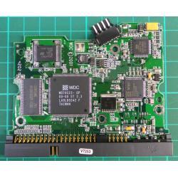"""PCB: 2060-001102-003 Rev A, WD Caviar, WD800JB-00CRA1, 80GB, 3.5"""", IDE"""
