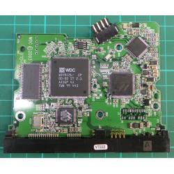 """PCB: 2060-001267-0001-Rev A, WD Caviar, WD1200JD-22HBB0, 120GB, 3.5"""", SATA"""