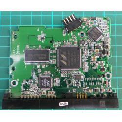 """PCB: 2060-001293-001 Rev A, WD Caviar, WD800JD-60JRA0, 80GB?, 3.5"""", SATA"""