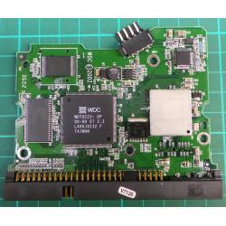 """PCB: 2060-001177-00 Rev A, WD400, WD400BB-75DEA0, 40GB, 3.5"""", IDE"""
