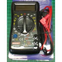 Digital Multi Meter, with Transistor Tester