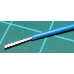 24AWG, 0.23mm2, Stranded, PVC, 85deg, Blue