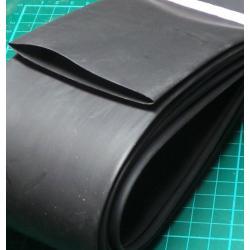 50mm / 25mm, Heatshrink, Black