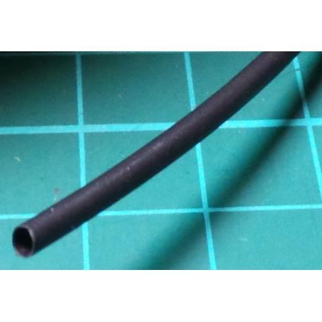 1.5mm / 0.75mm, Heatshrink, Black