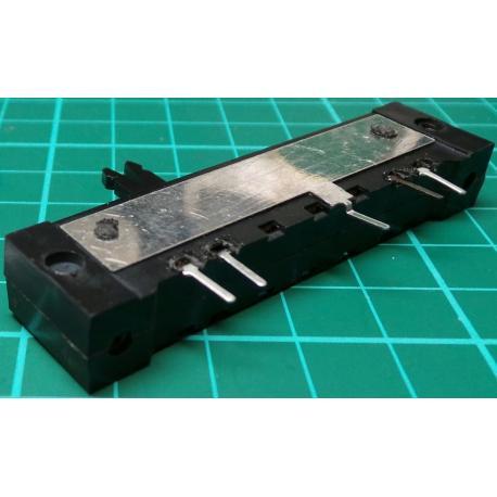 Slider, 220K, Log, 68x12x16mm, Old Stock