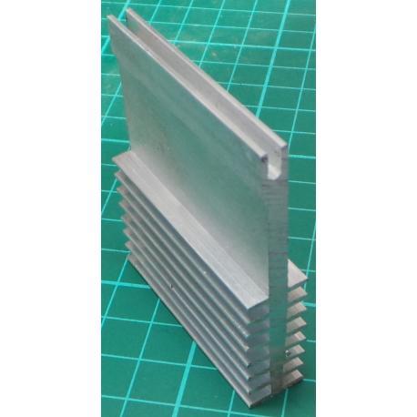 Heatsink, Black, TO220, 19.1mm x 13.3mm x 9.4mm