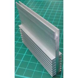 Heatsink, Alu, 60mm x 12mm x 50mm