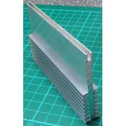 Heatsink, Alu, 60mm x 12mm x 70mm
