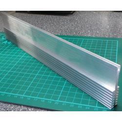 Heatsink, Alu, 60mm x 12mm x 100mm