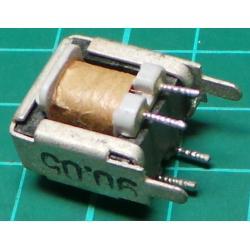 Transformer, 2 x 230V-18V or 115V-9V, 9VA, PCB Mount