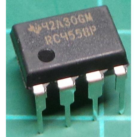 RC4558P, Dual Op Amp