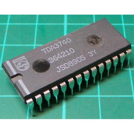 TDA3740, Video Processor and Freq Modulator IC